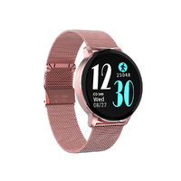 Newwear R5 1.3 inch Full Touch Screen Wristband HR Blood Pressure O2 Monitor Custom Dial Weather Display Smart Watch