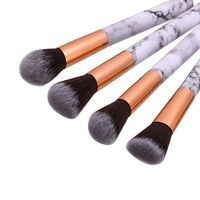 10pcsPromotions marbling texture brushes face foundation powder eyeshadow kabuki eye blending cosmetic marble makeup brush tool $14.00