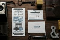 Custom Wedding Invitation on Behance
