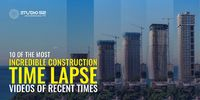 watch these videos taken with 10 of the Most Incredible Construction Time Lapse Videos of 2021. Read more - https://studio52.tv/blog/10-of-the-most-incredible-construction-time-lapse-videos-of-recent-times