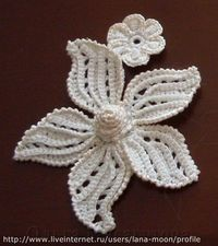 crochet flower tutorial, crochet flowers and irish crochet.