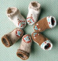 American Indian inspired booties... So cute....