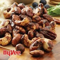 Don't pass just any nuts around at your next get-together, pass Coffee-and-Maple-Glazed Nuts. The combo of brown sugar, maple syrup and dark roast coffee is great for nibbling and tossing on a bowl of chocolate ice cream.