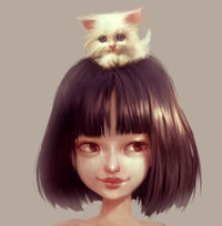 cat lover by ilse harting