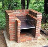 Tips and ideas on building your own backyard brick barbecue grill.