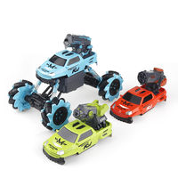 Xiaomi Youpin Bravokids RC Car 3 In 1 Crawler Truck Vehicle Models Children Toy Double Battery