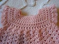 baby dresses, dresses and crochet.