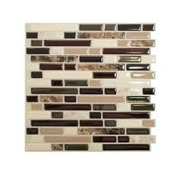 Smart Tiles 1 Piece 10in x 10in Bellagio Mosaik Peel and Stick wall Tile