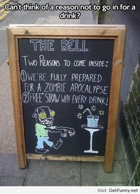 Intelligent and interesting sign