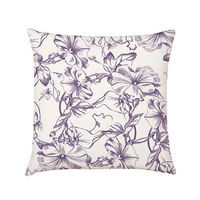 Moonflower Lilac Cushion