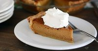 This classic pumpkin pie is delicious! Creamier than other versions, it is perfectly spiced and the best pumpkin pie around.