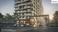 2 BHK luxurious Flats Ravet View From Front gate.png
