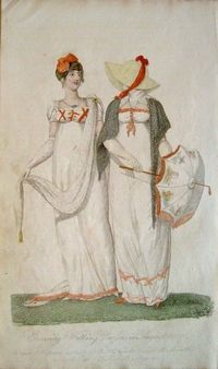 Belle Assemblee 1807. Regency fashion plate.
