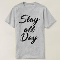 Slay All Day T-shirt, Slay All Day Shirt, womens unisex slay shirt, Slay All Day Shirt, Workout Shirt, Muscle Tee, Yoga Muscle, Slay All Day $16.50
