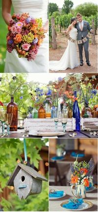 vinyard inspired wedding decor ideas