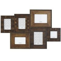 Great for Family Pics- Possibility in MainFlr Living Spc above Kids Storage Cabinet -Pier 1 Weathered Collage Frame $69.95