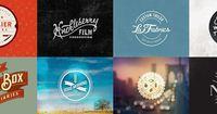 Examples of retro logo designs