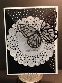 Teeny Tiny Wishes, Butterfly Die, Birthday Card, Stampin' Up!, Rubber Stamping, Handmade Cards