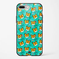 Tigers in the Bush Glass Case Phone Cover from Myxtur