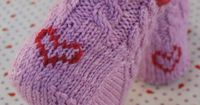 Duplicate Stitch Tutorial - knit designs/letters into projects