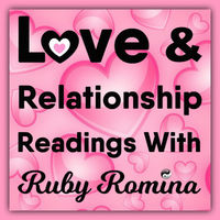 LOVE & RELATIONSHIP READINGS, WITH RUBY ROMINA ~ Visit my site now to find out more x