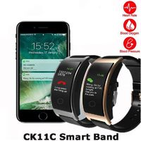 New CK11C Smart Band Colorful Screen Heart Rate Monitor Bracelet Blood Pressure Fitness Tracker Smart band $41.99