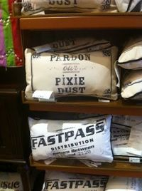 OMG I HAVE to HAVE these...pillows from Walt Disney World