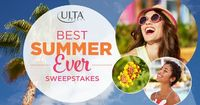 Enter the Ulta Beauty Best Summer Ever Sweepstakes for a chance to win a trip for 2 to St. Thomas! #ultabeauty #sweepstakes Ends 08/27/2016