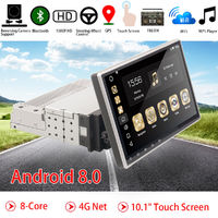 10.1 Inch Adjustable Touchscreen Android 8.0 Car Radio Stereo Car GPS Navigation
