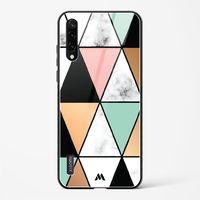Moroccan Tiles on Marble Glass Case Phone Cover from Myxtur