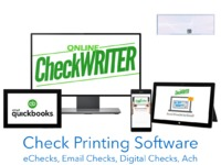 This check printing software helps your to print your check in a mintue. Fully cloud based (browser) thus support mac, windows even linux. https://onlinecheckwriter.com/check-printing-software/