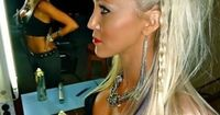 rockstar hair great style...good for a party night out