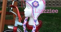 Unicorn Crochet Hat Pattern PDF instructions for by lizzziee, $3.99