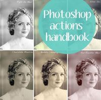 guide to photoshop actions . photography month from