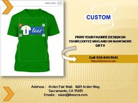 For Online Fast Custom T-Shirt Printing Santa Rosa .Visit on https://www.iteezca.com where you can design your t-shirt or on any gift you want. Call: 916-840-9141 Emails : sales@iteezca.com