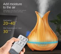 Ultrasonic Led Aroma Oil Diffuser with Remote Control $39.89