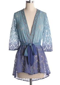 Deep Waters Cardigan - $54.95 : Indie, Retro, Party, Vintage, Plus Size, Convertible, Cocktail Dresses in Canada. This is so pretty, but I would probably look terrible in it.