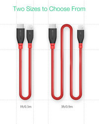 BlitzWolf® BW-CL1 PD 3.0 Type-C to Lightning 3A Fast Charging Data Cable With MFi Certified 3ft/0.91m