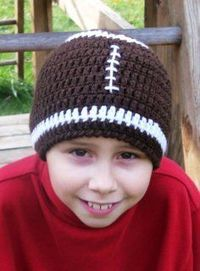 crochet patterns for football hats | ... crochet newborn hats, baby boy crochet hats patterns, crochet hats