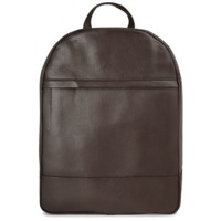 Grained Calf Leather Rucksack Brown $369.00