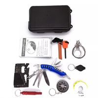 Hunting Outdoor SOS Emergency Kit Equipment Box Camping Survival Tactical Tools Kit