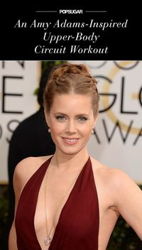 While she didn't take home an Oscar last night, Amy Adams won big in the fashion department; she wore another elegant dress that showed off lots of skin. To