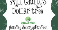 All things dollartree decor for the Holidays. Hostess gifts, crafts, tablescapes and more!