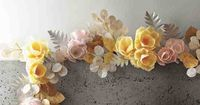 How to Make Paper Flower Garland | DIY Paper Flowers