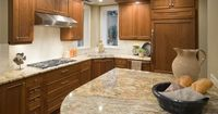 granite backsplash slab | bianco romano granite Gallant Gold granite Golden River granite