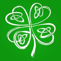 Irish Shamrock Clover Unisex Tri-Blend T-Shirt $28.99 �œ�Handcrafted in the USA! �œ�