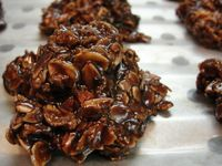 Dark Chocolate No Bake Oatmeal Cookies by AddisonShaw, via Flickr