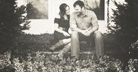 A Picture each year on your anniversary on your front porch... {I want to remember to do this}