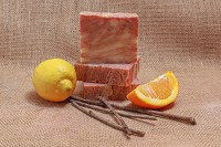 Citrus Cedar Sage Soap Bar Plus Cedar Soap Saver | Bar Soap Dish $9.95