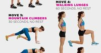 Fire Up Your Metabolism with These 4-Minute Workouts - Yep, 4 minutes. NO EXCUSES!